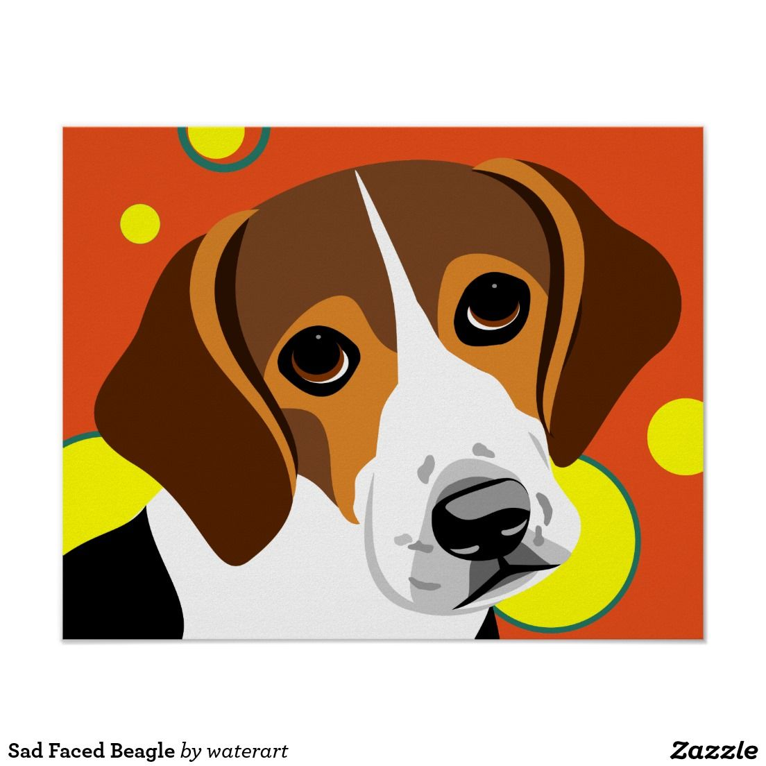Pin On Colorful Dog Art