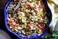 Mexican Street Corn Salad - Sneaky Mommies, Summer Recipes #mexicanstreetcorn Mexican Street Corn Salad - Sneaky Mommies, Summer Recipes #mexicanstreetcorn