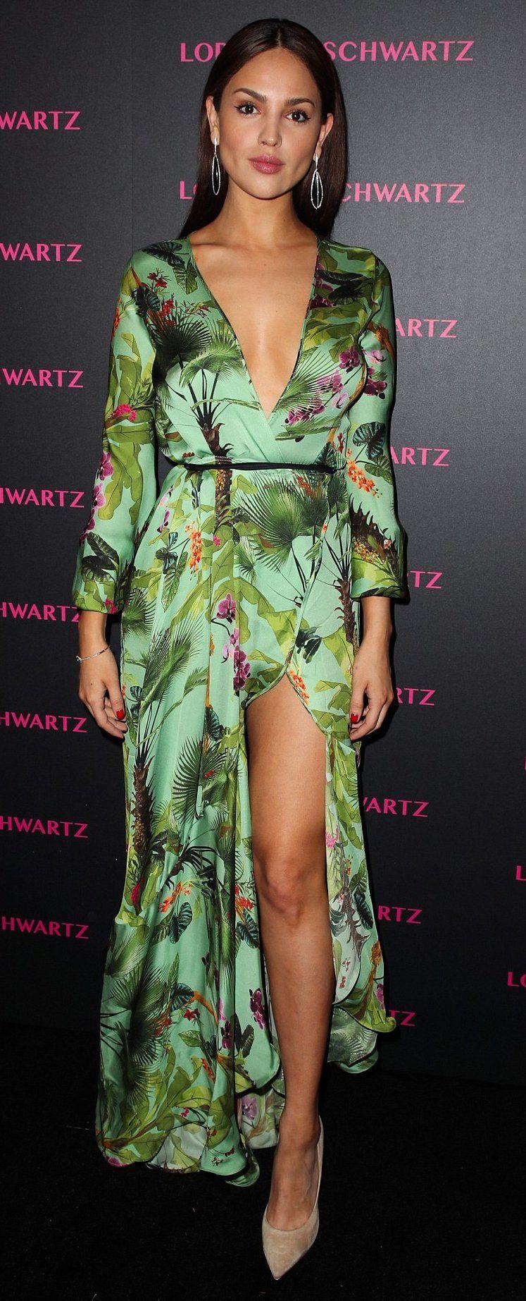 Eiza Gonzalez in Johanna Ortiz attends the Lorraine Schwartz The E ...