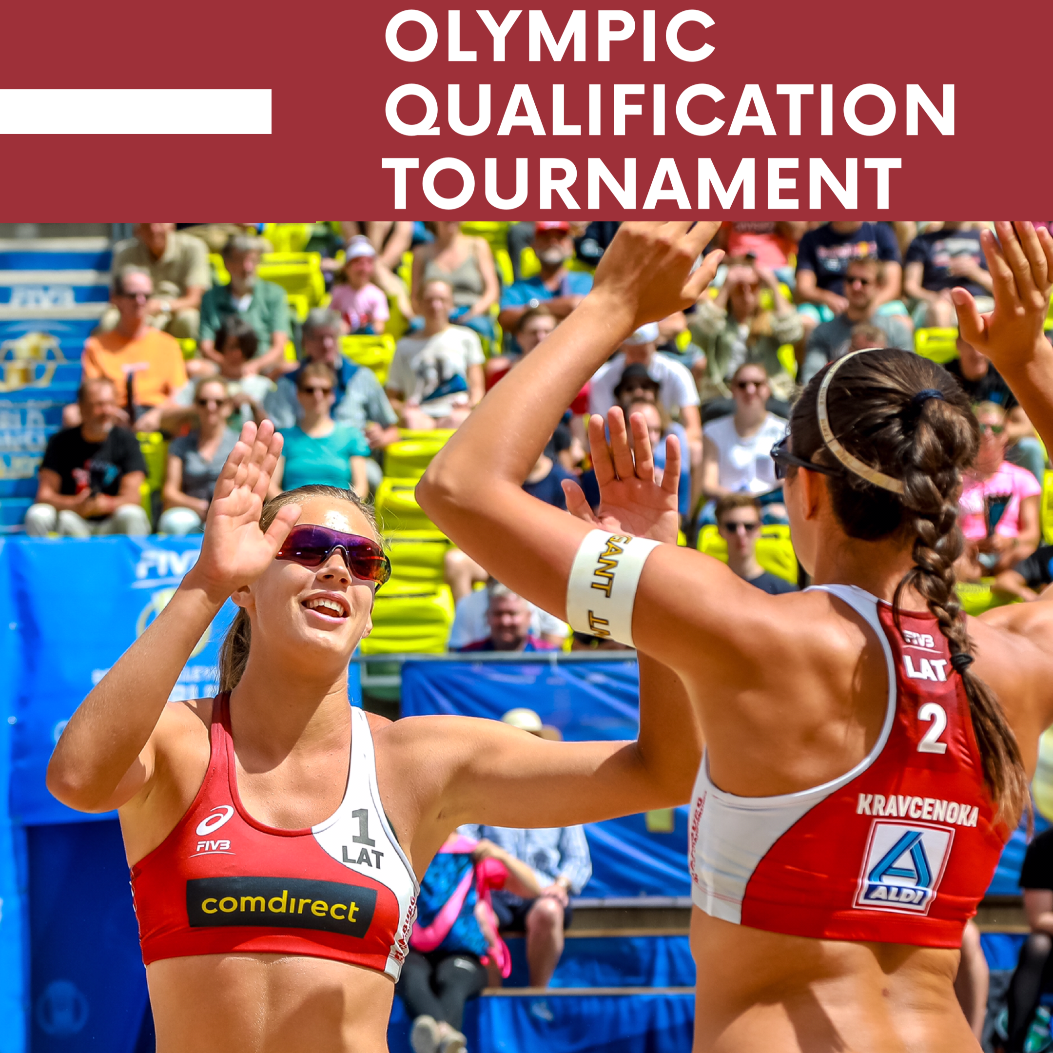 Latvia Are Heading To Tokyo In 2020 Beach Volleyball Olympics World Championship