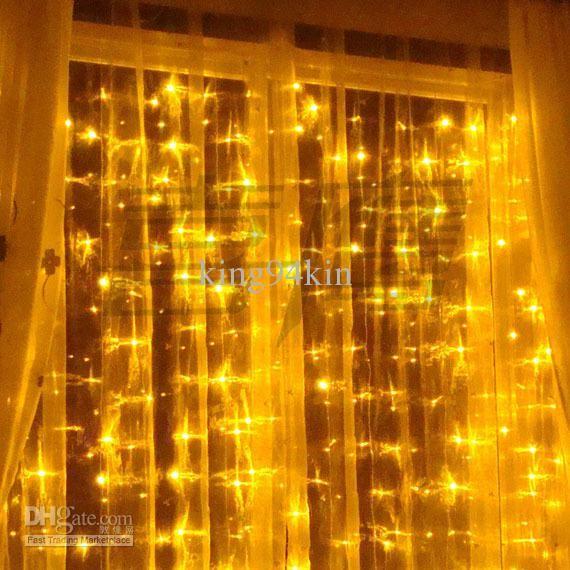 800 LED lights 8m*3m Curtain Lights,Christmas ornament light,Flash
