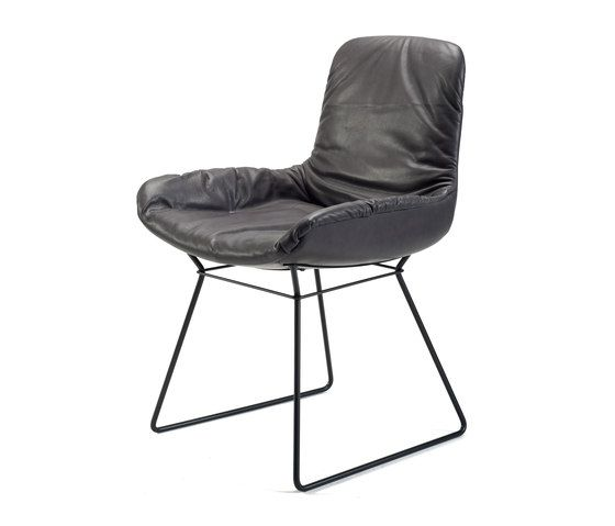 Chairs Seating Leya Chair Freifrau Birgit Hoffmann Check It Out On Architonic Leather Furniture Furniture Chair