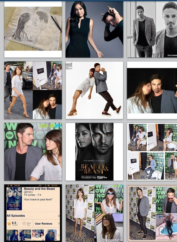 Jay Ryan And Kristin Kreuk Beauty And The Beast Beauty And