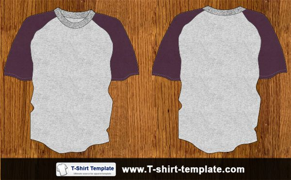 Download Youth Raglan T Shirt Template Shirt Template Clothing Mockup Shirts