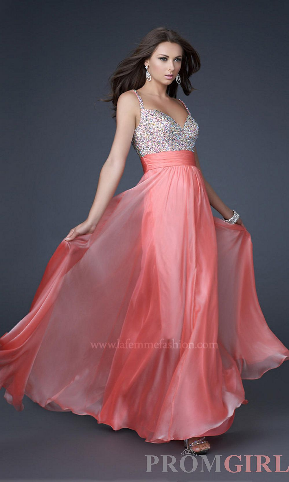 I love the color and the flow the dress has.
