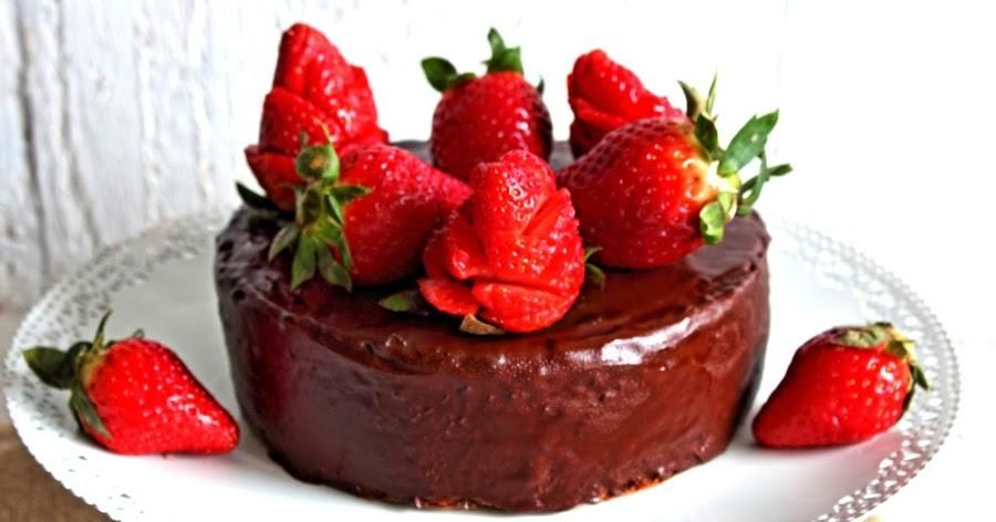 Pastel de chocolate fácil