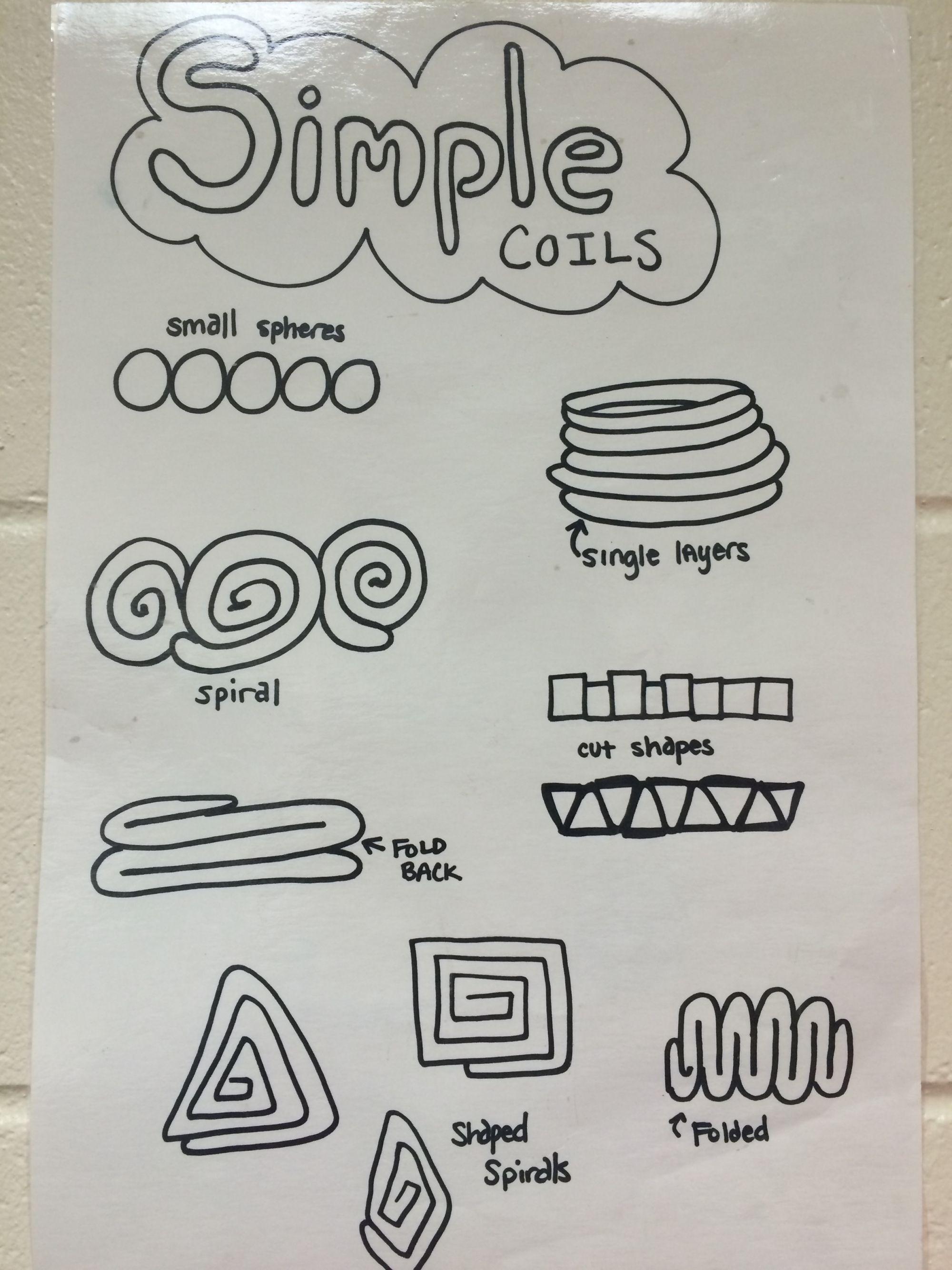 Coil Pottery 4th Amp 5th Grade