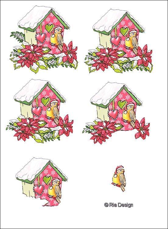 3d christmas 3d christmas winter pinterest blog - Decoupage noel gratuit imprimer ...