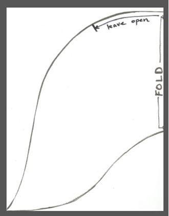Mermaid Tail Fin Pattern | Kidding around | Pinterest | Nähen