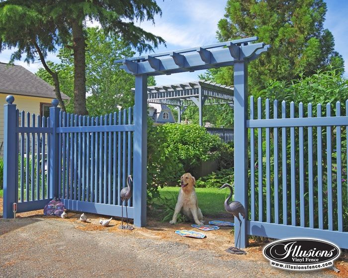 Photo Gallery Illusions Vinyl Fence Vinyl Fence Pvc Fence Fence Landscaping