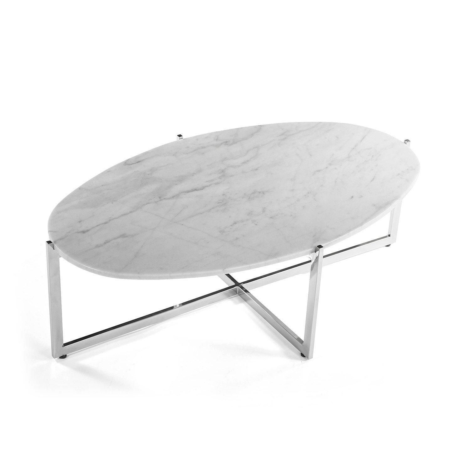 Lucerne Coffee Table Marble Coffee Table Marble Cocktail Table Oval Coffee Tables [ 1500 x 1500 Pixel ]