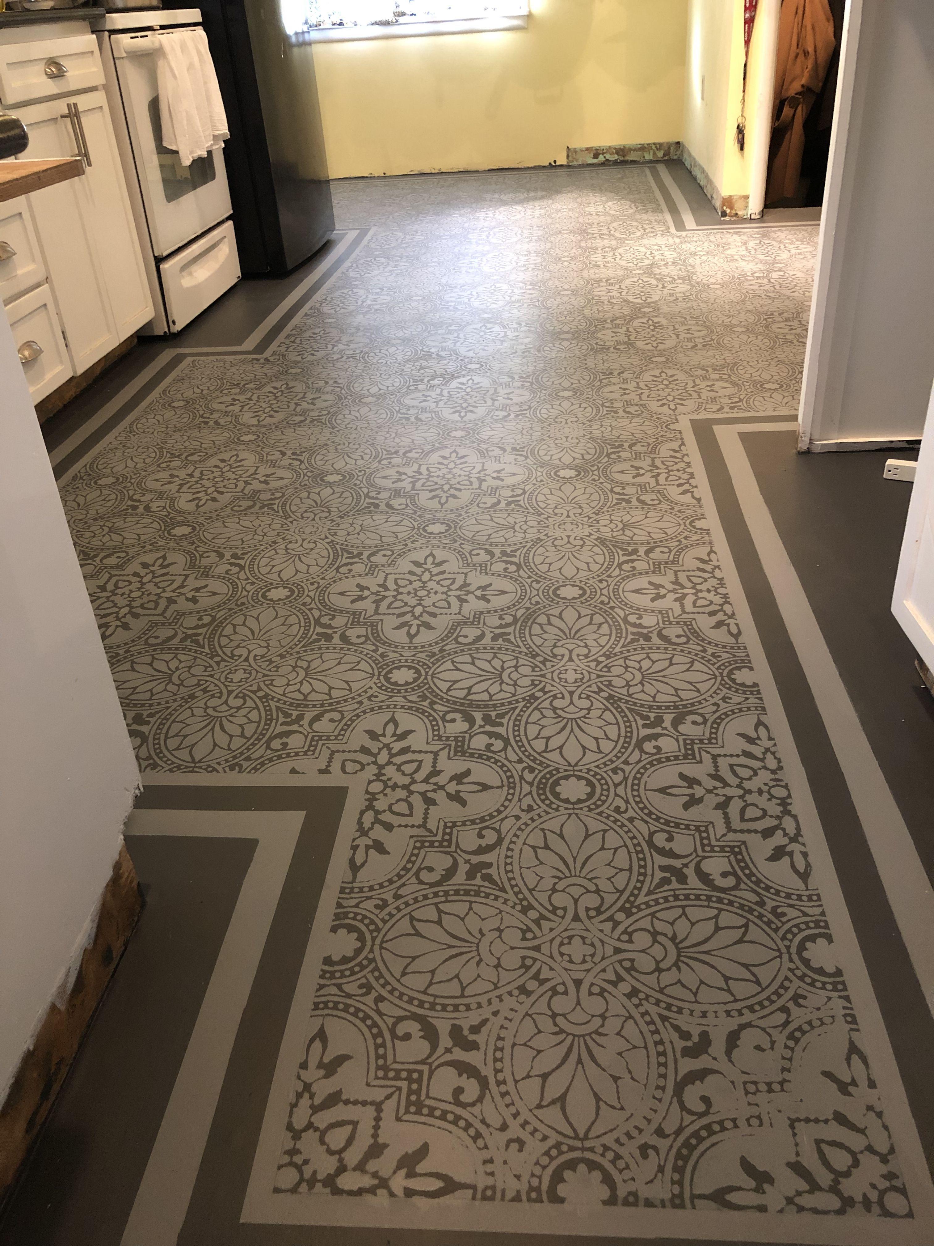 painted old vinyl floor  vinyl flooring flooring tile
