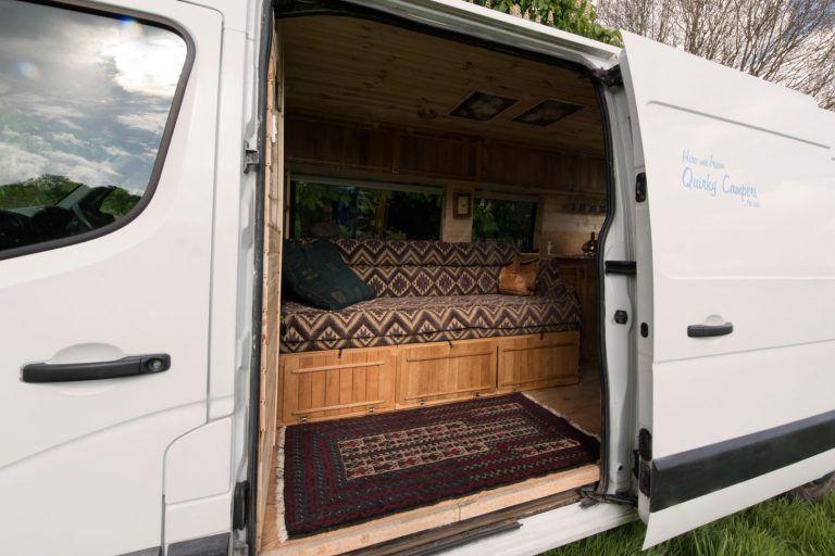 MacIntyre Tiny house camper, Van conversion interior, Camper