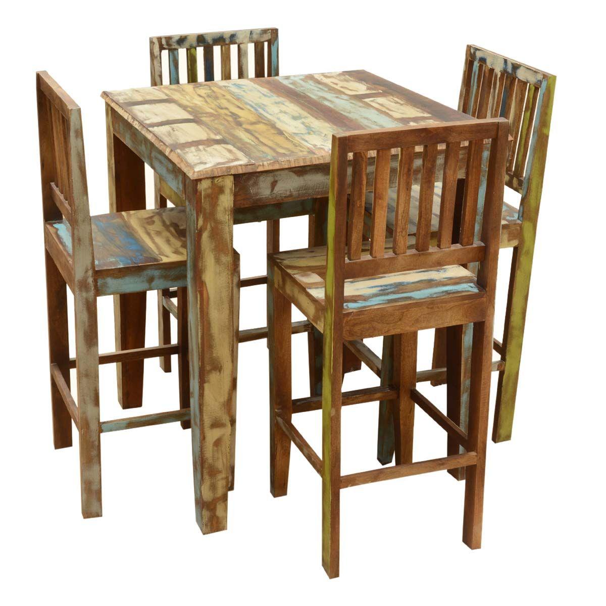 Appalachian Bar Table Pallet Furniture Rustic Reclaimed Wood