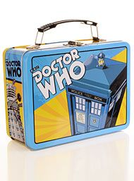 New Arrivals - Across the Universe Doctor Who Lunchbox by Vandor Gifts Handbags