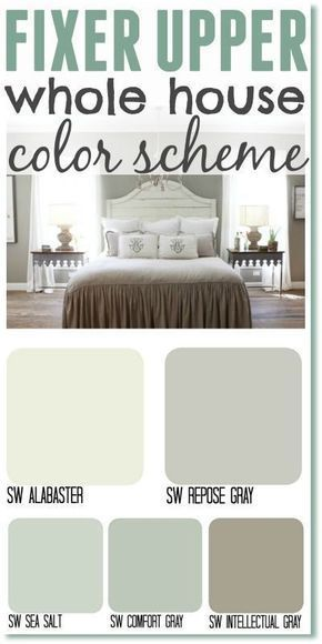 Fixer Upper Inspired Color Schemes For The One Who Can't Make Up Her Mind images