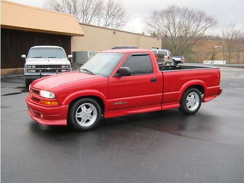 2000 Chevy S 10 Xtreme Standard Cab Fleetside C10 Chevy