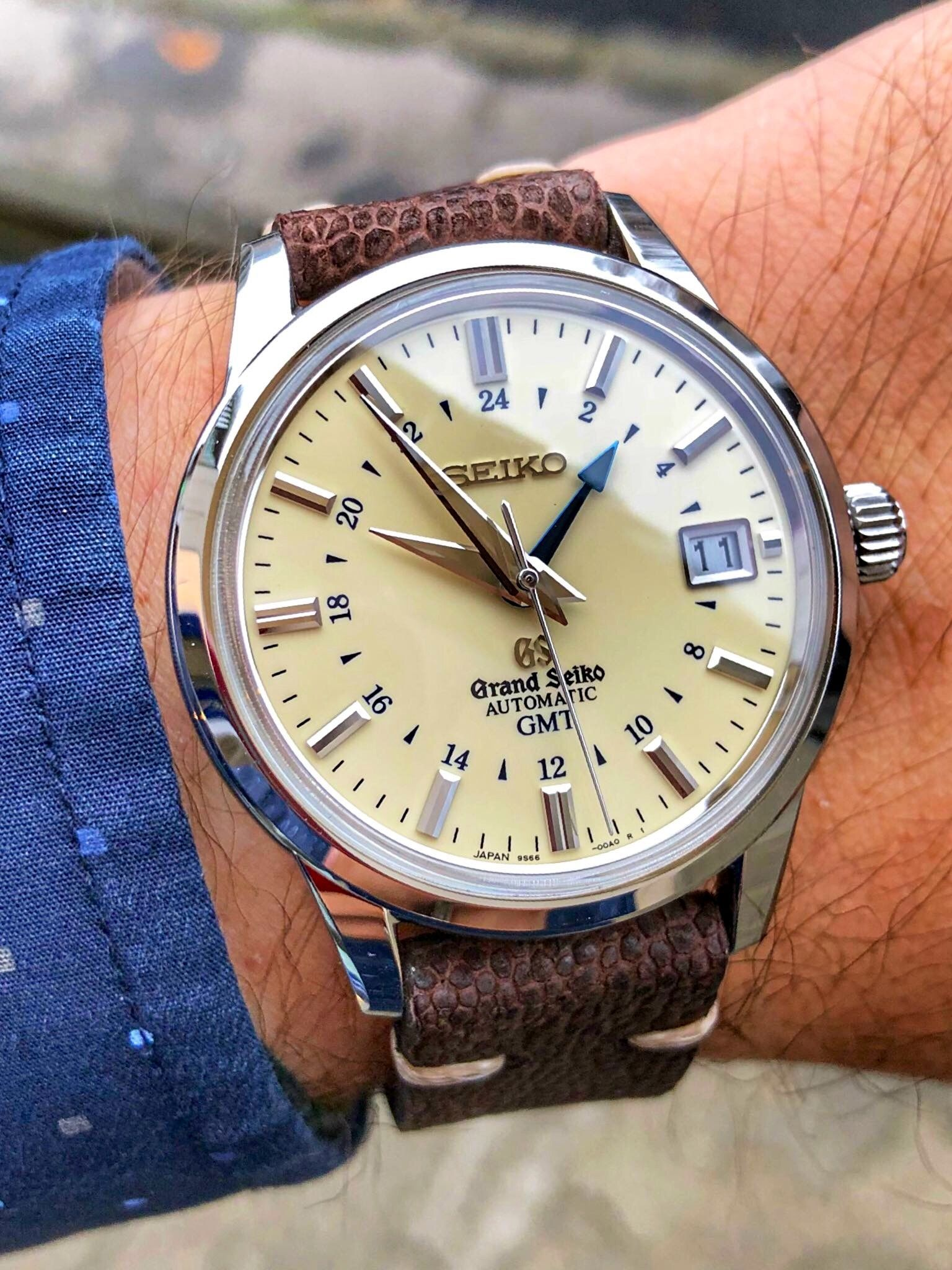Grand Seiko Gmt Watches For Men Vintage Watches Luxury Watches For Men