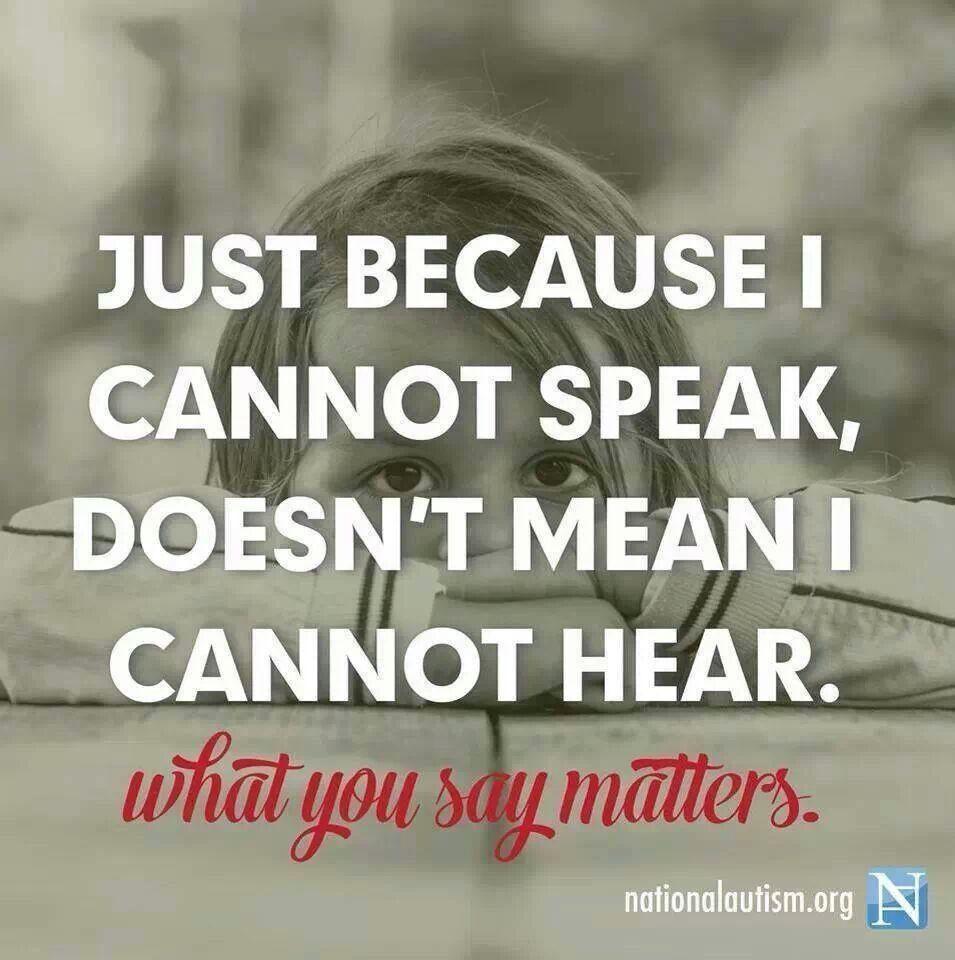 So very true! Autism quotes, Autism, Autism sensory