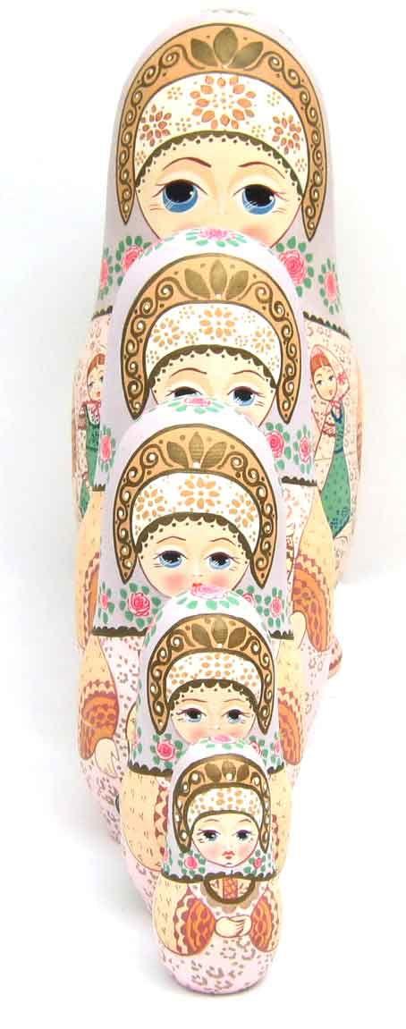 """""""Khorovod"""" Matryoshka Nesting Doll"""