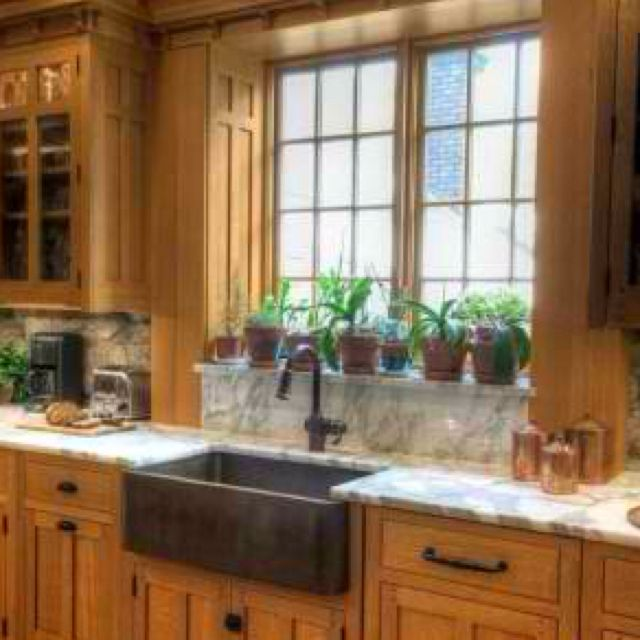 Craftsman Kitchen Oak Cabinets: Up Close Look At How My Kitchen Sink Area Will Be Set Up