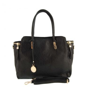 Bolso 2 asitas estilo maletín con bandolera - Paula Alonso - Tienda online