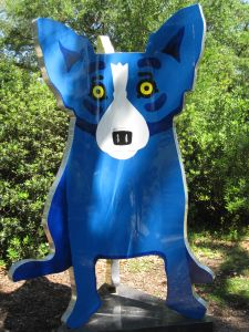 George Rodrigue ~ Blue Dog ~ New Orleans Museum of Art Sculpture Garden
