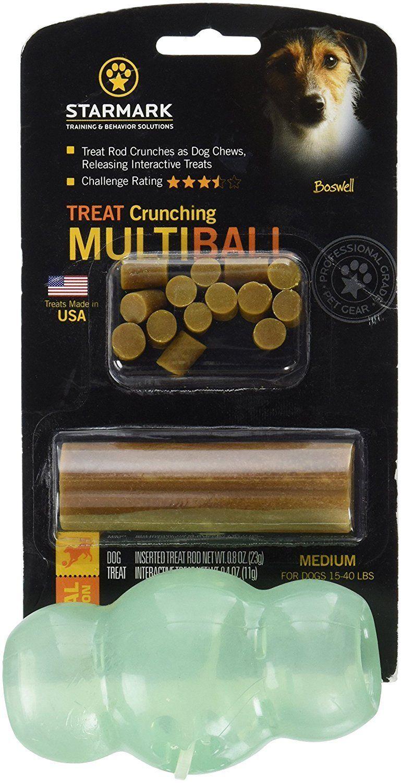 Starmark Smtrmbm Treat Crunching Multiball Dog Toy Dog Food