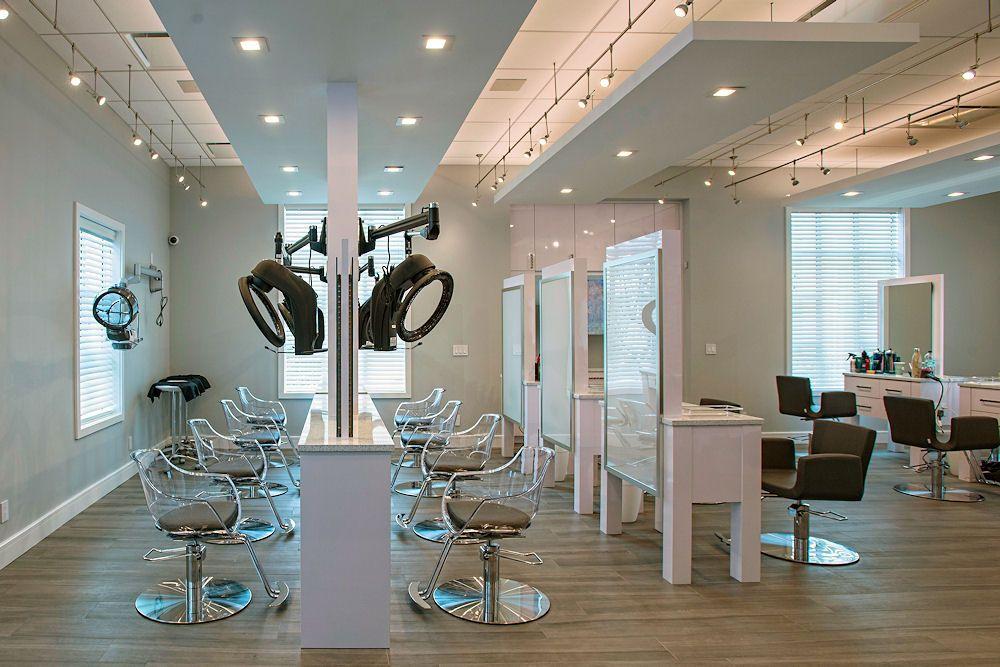 Glaze Salon Color Processing Area With Galaxy Color Processor Salon Interior Beauty Salon Decor Salon Decor