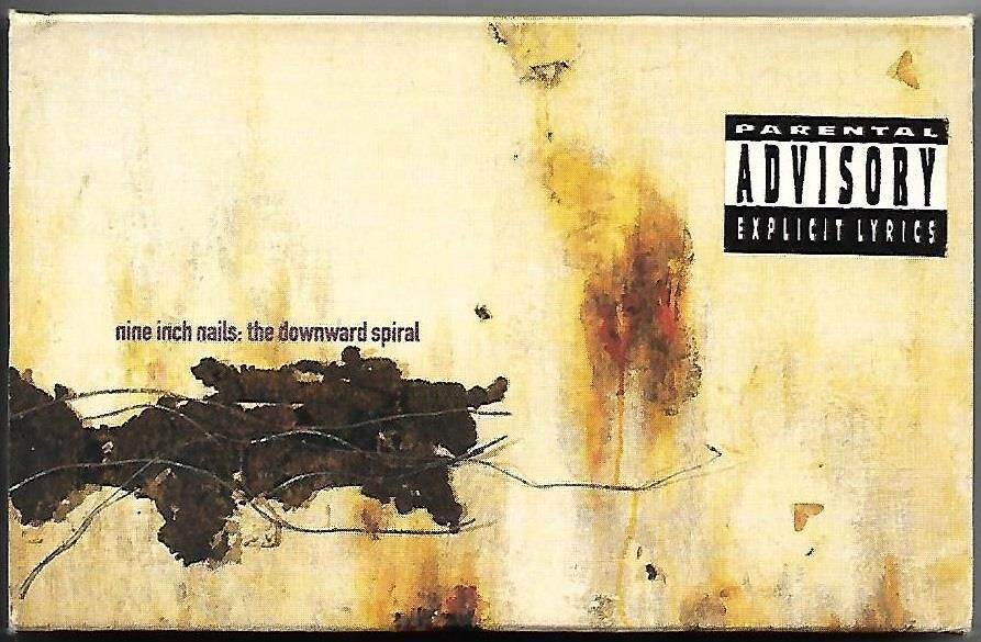 Nine Inch Nails The Downward Spiral Cassette Tape With Slipcover ...