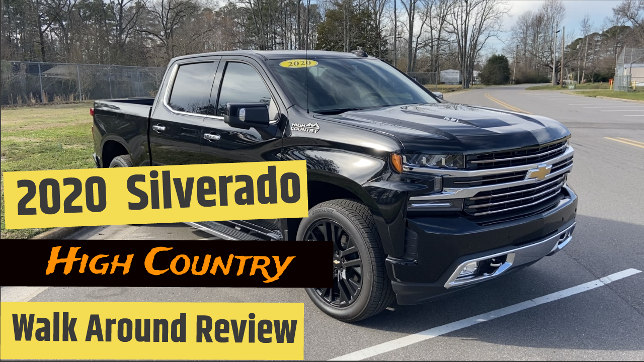 2020 Chevrolet Silverado 1500 High Country Review In 2020 Silverado High Country Chevrolet Silverado Chevy Silverado High Country