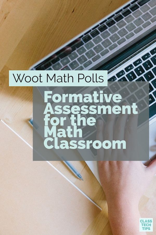Woot Math Polls: Formative Assessment for the Math Classroom ...