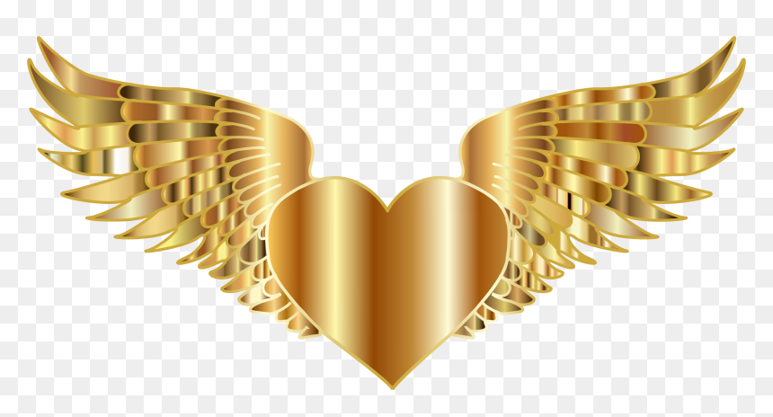 Gold Angel Wings Png Transparent Png Is Pure And Creative Png Image Uploaded By Designer To Search More Free Png Angel Wings Png Glitter Crown Crown Clip Art