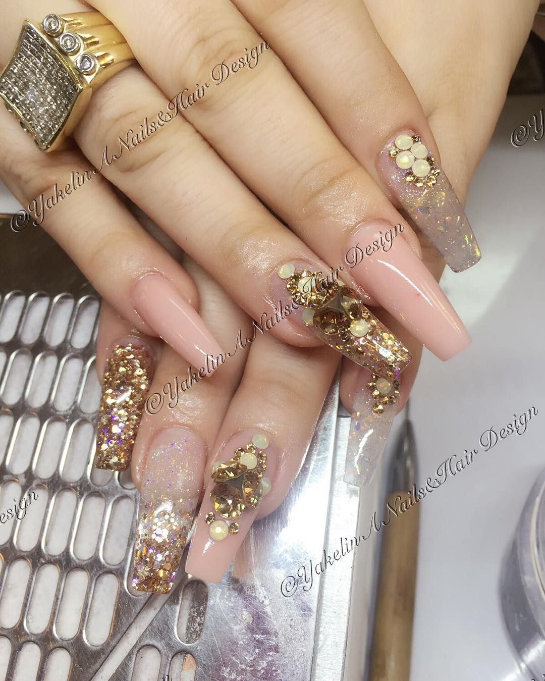 Videos Uñas Acrilicas Decoradas Yakelin Acosta Yakelinacosta Instagram Photos And Videos Nails