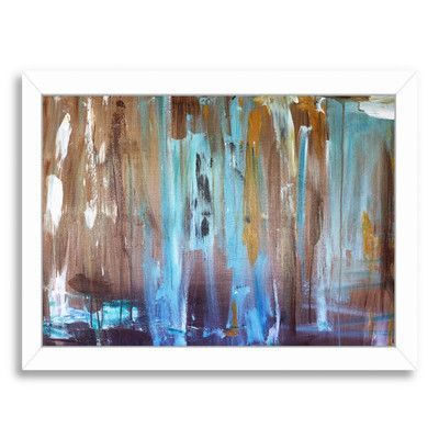 Americanflat 'Healing' by Laura D Zajac Framed Painting Print