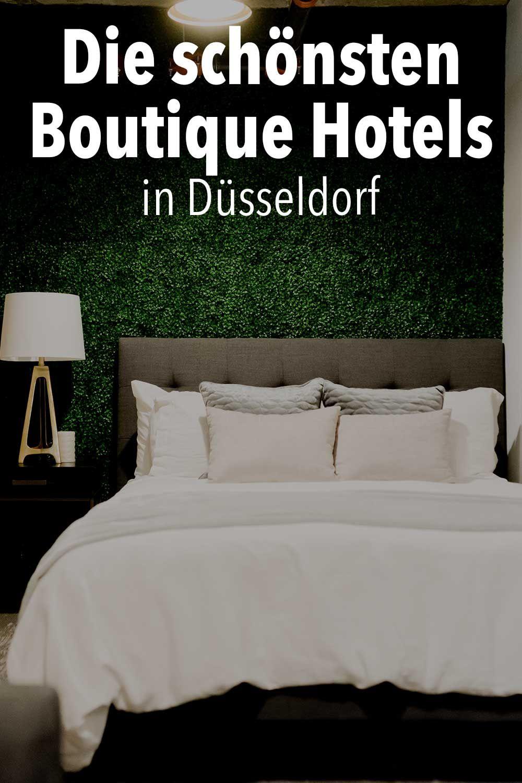 Die schönsten Boutique Hotels in Düsseldorf Hotel