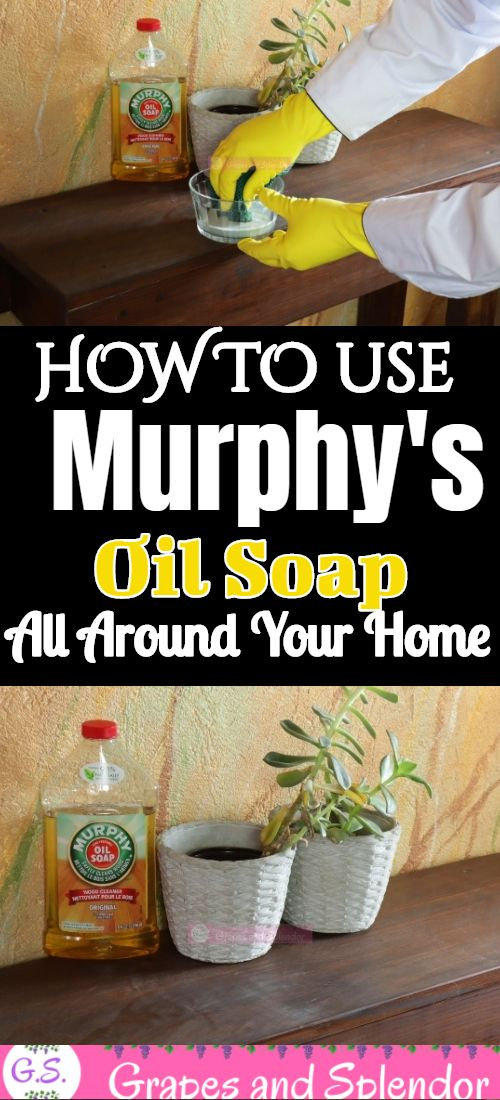 Murphy's oil soap is one of the best soaps in my home. It has such a soothing and pleasant smell that's really calming. In addition to that, Murphy's oil soap is tough on grease and stains and it can clean almost anything in and around the home home. From the kitchen to the bathroom, the washroom, all sorts of furniture, and even my car. Here are 25 ways to clean with Murphy's oil soap. #murphysoilsoap #murphysoilsoapcleaninghacks #murphysoilsoaphacks #cleaninghacks #tipsandtricks #cleaning #hom
