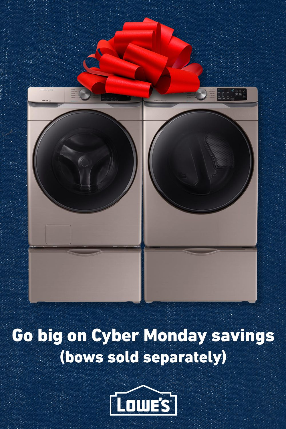 Save Big On Appliances This Cyber Monday At Lowe S Appliance Deals Black Friday Appliances Home Improvement