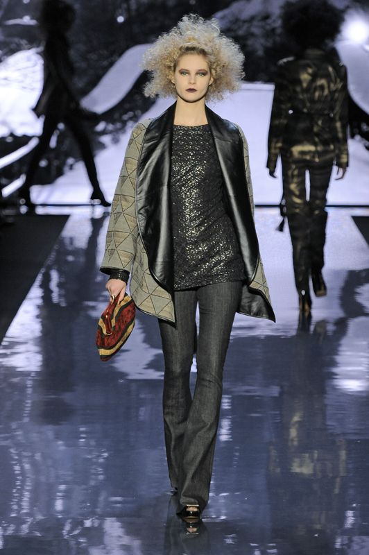 Badgley Mischka fall 2012 New York fashion week
