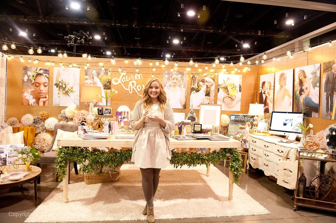 The Mother Of All Bridal Show Booths Love Love The
