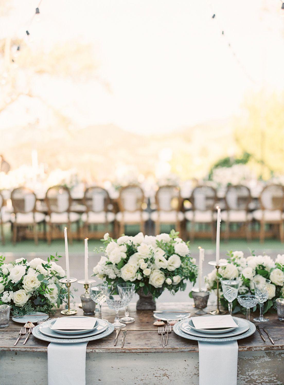 The Most Elegant California Vineyard Wedding at Saddlerock ...
