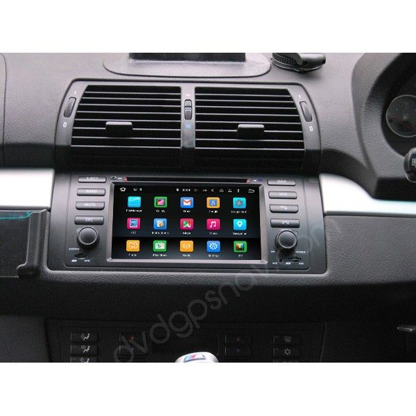BMW X5 aftermarket radio installation | Android BMW