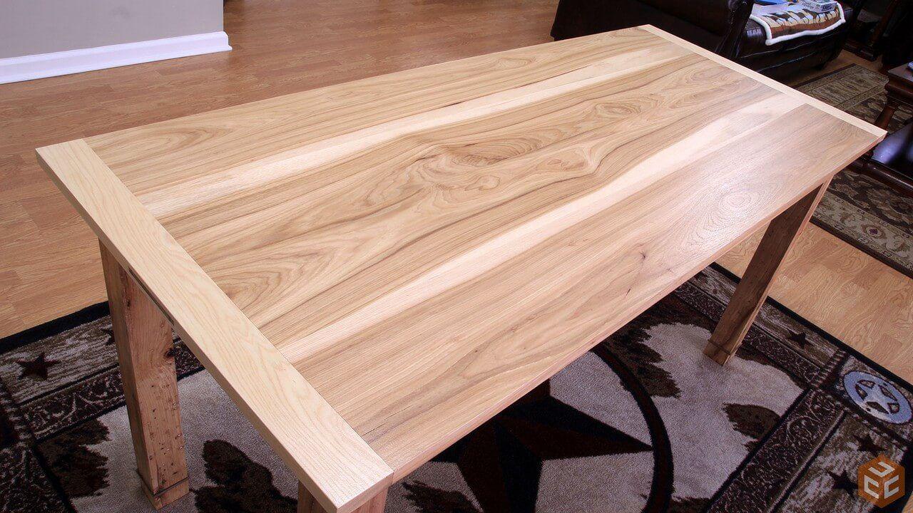 Cómo construir una mesa de comedor de madera , mesa ideal de madera ...