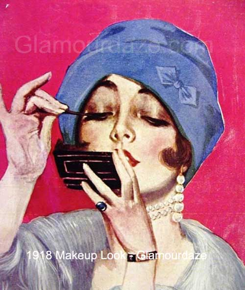 The History of 1900's Makeup – 1900 to 1919 | Glamour Daze