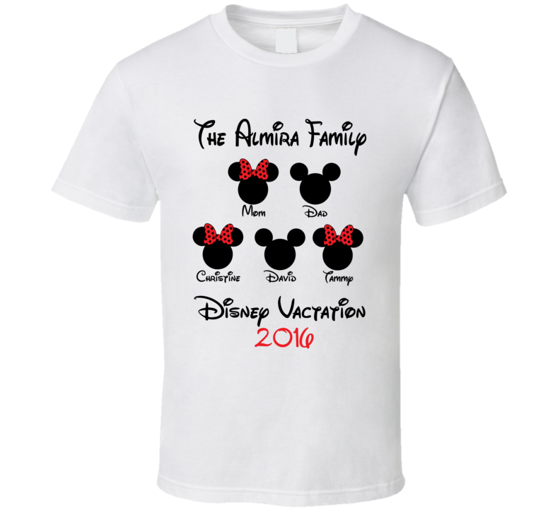 The Classic Disney Vacation T-Shirt, why buy something that ...