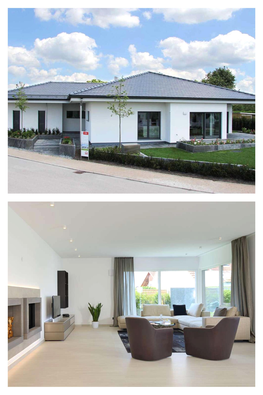 Fertighaus Weiss Plusenergiehaus Vita In 2020 Haus Fertighauser Und Fertighaus Bungalow