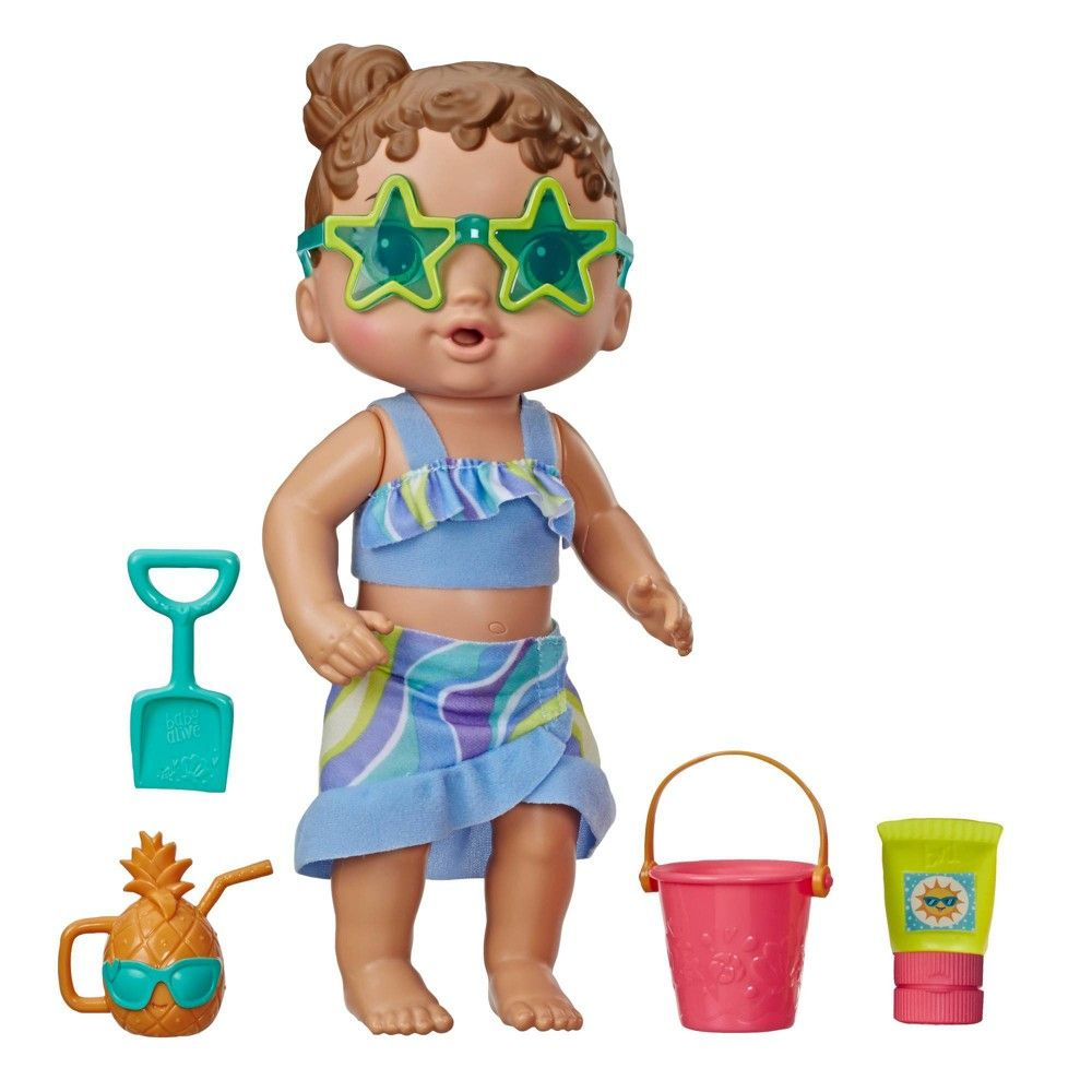 Baby Alive Sun N Sand Baby In 2020 Baby Alive Baby Alive Doll Clothes Baby Alive Dolls