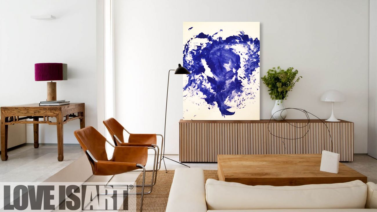 Love Is Art Kit - Klein Blue