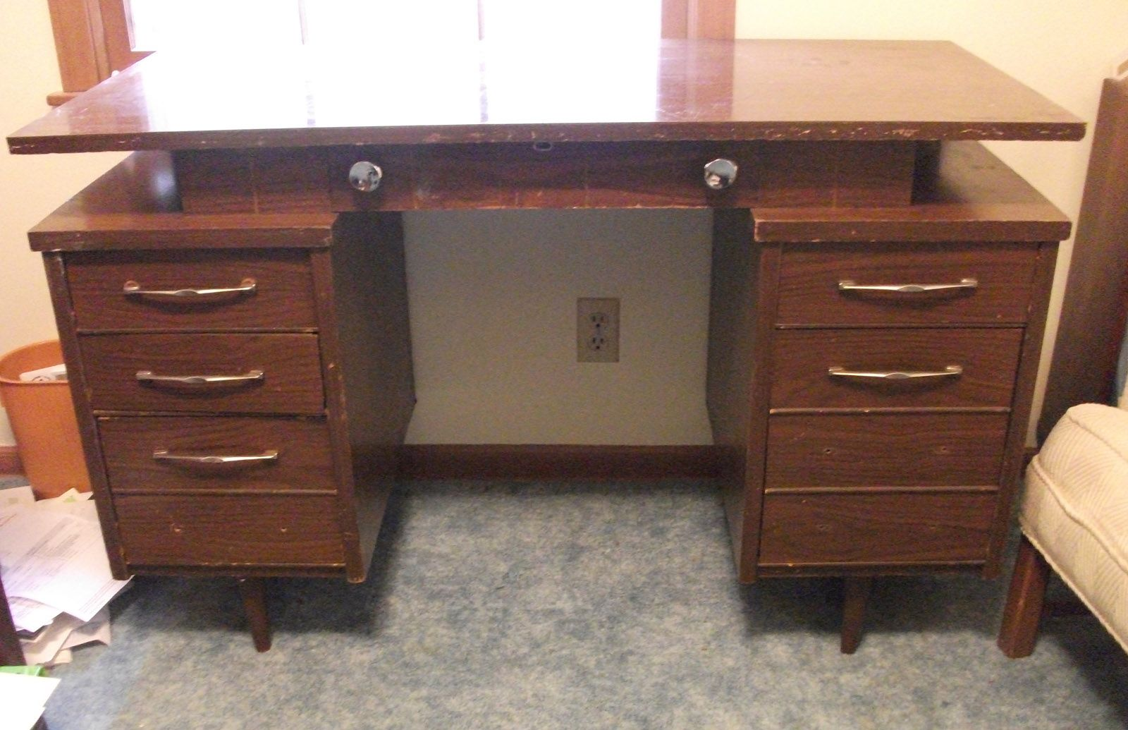 Swell The Desk For My Office Guest Room Free On Craigslist I Home Interior And Landscaping Oversignezvosmurscom