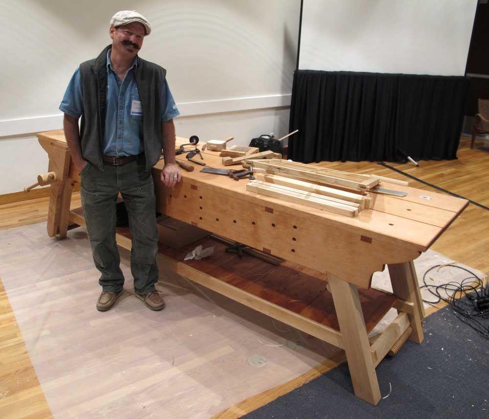 Erik Mortensen S Awesome English Workbench Woodworking